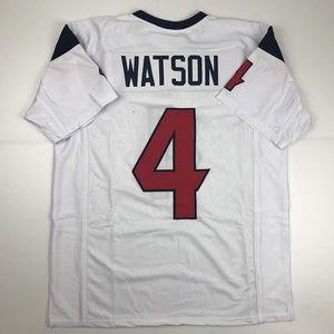 Deshaun Watson Houston White Football Jersey